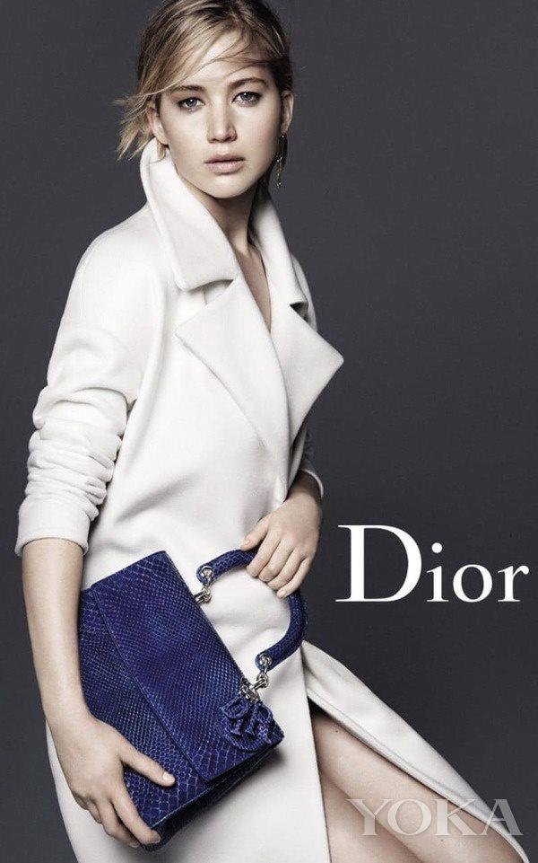 詹妮弗·劳伦斯Dior广告大片 图片来自品牌