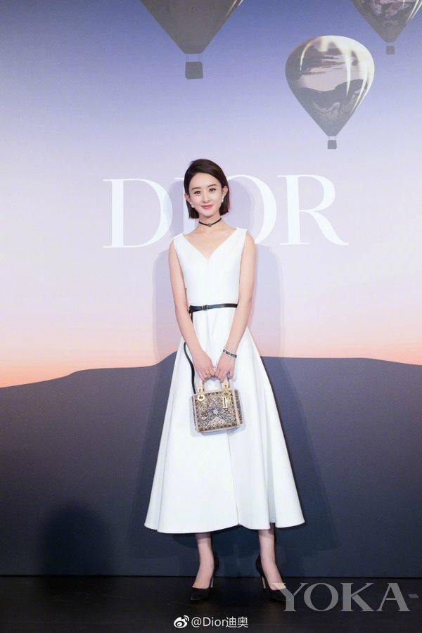 Dior中国区品牌大使赵丽颖 图片来自官微