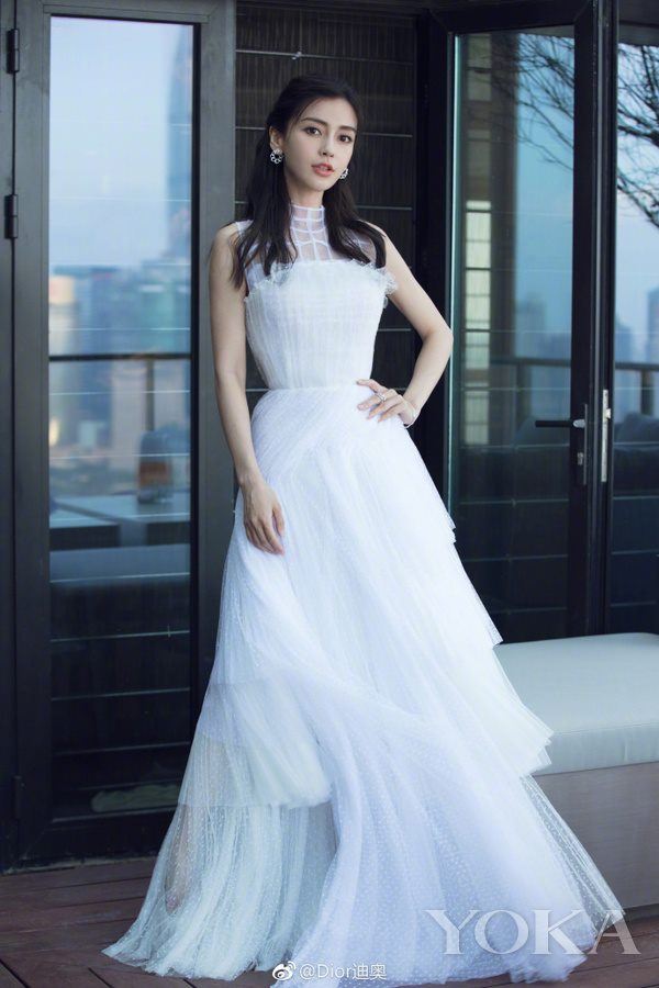 Dior中国区品牌大使杨颖 图片来自官微